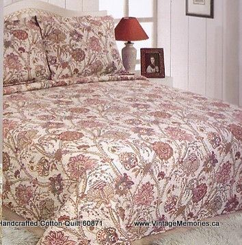 Handcrafted Cotton Quilt 60871