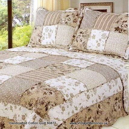 Handcrafted Cotton Quilt 60877