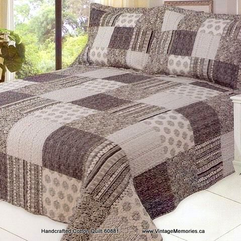 Handcrafted Cotton Quilt 60881