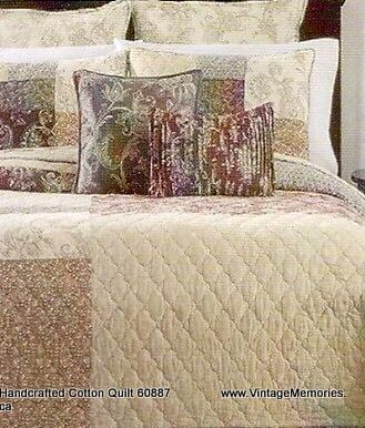 Handcrafted Cotton Quilt 60887
