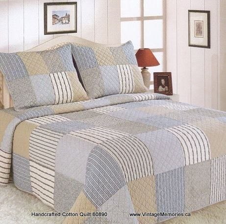 Handcrafted Cotton Quilt 60890