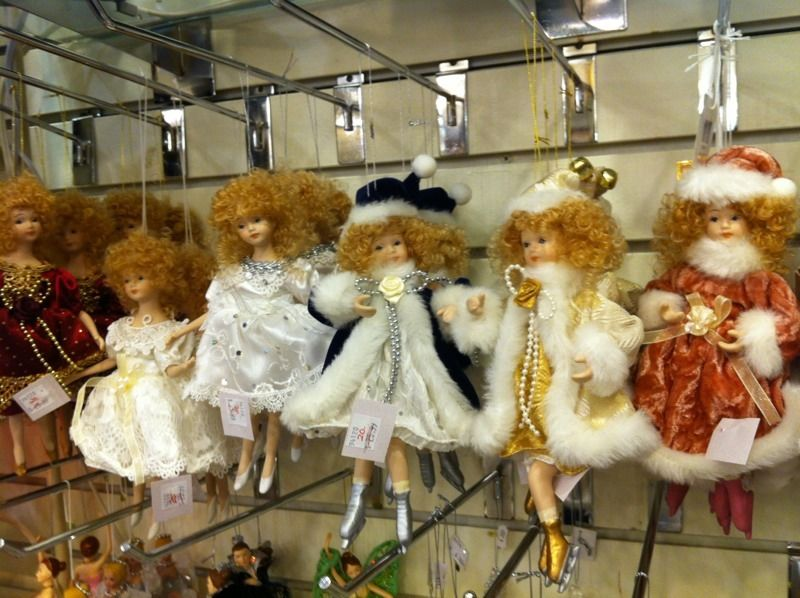 victorian ornament dolls
